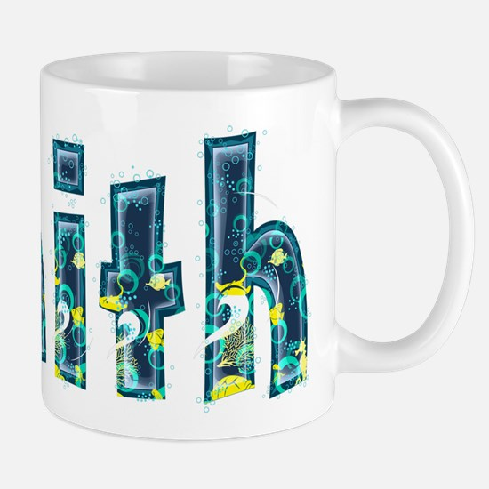 Faith Under Sea Mug