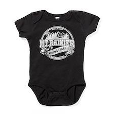 Mt Rainier Old Circle.png Baby Bodysuit