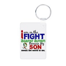 In The Fight 2 Autism Keychains