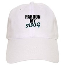 PARDON MY SWAG Turquoise Baseball Baseball Cap