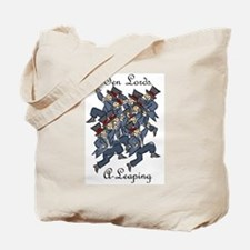 Tenth Day of Christmas Tote Bag