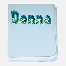 Donna Under Sea baby blanket