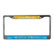 Boston Strong License Plate Frame