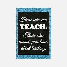 TEACHERS Rectangle Magnet