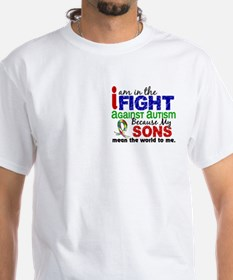 In The Fight 2 Autism Shirt
