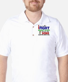 In The Fight 2 Autism Golf Shirt