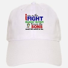 In The Fight 2 Autism Baseball Baseball Cap