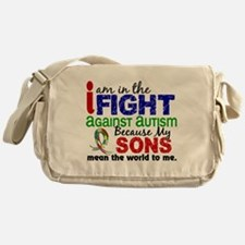 In The Fight 2 Autism Messenger Bag