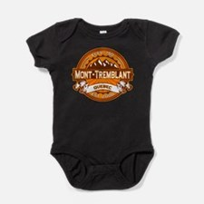 Mont Tremblant Tangerine.png Baby Bodysuit