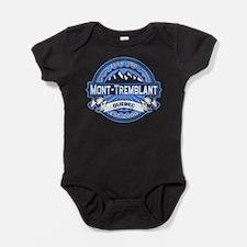 Mont Tremblant Blue.png Baby Bodysuit