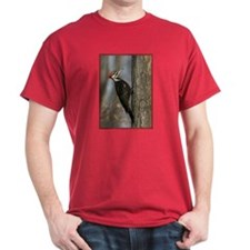 Pileated Woodpecker Red T-Shirt