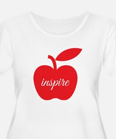 Teachers Inspire Plus Size T-Shirt