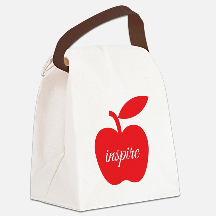 Teachers Inspire Canvas Lunch Bag