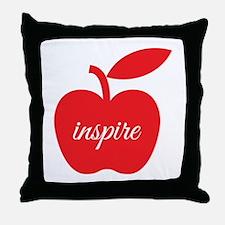 Teachers Inspire Throw Pillow