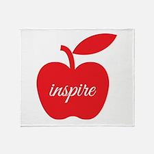Teachers Inspire Throw Blanket