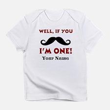 1st Birthday Mustache Infant T-Shirt