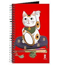Manekineko lucky cat Journal