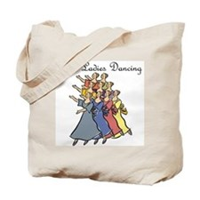 Ninth Day of Christmas Tote Bag