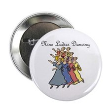 Ninth Day of Christmas Button