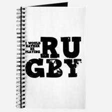 'Playing Rugby' Journal