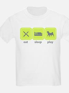 American Lo Sze Pug Kids T-Shirt