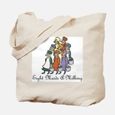 Eighth Day of Christmas Tote Bag