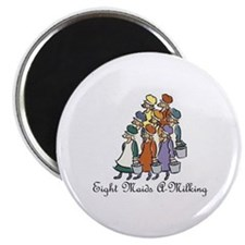 Eighth Day of Christmas Magnet