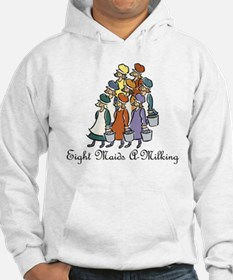 Eighth Day of Christmas Hoodie