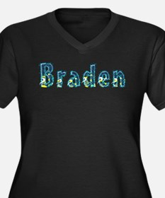 Braden Under Sea Plus Size T-Shirt
