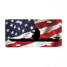 American Kayak Angler - Aluminum License Plate