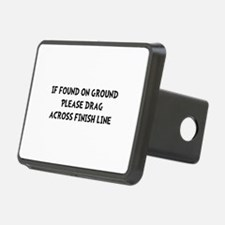 Drag Across Finish Hitch Cover