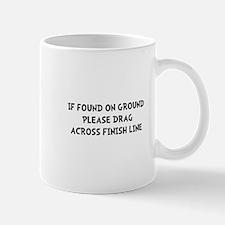 Drag Across Finish Mug