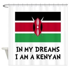 Dream Kenyan Shower Curtain