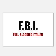 Full Italian Postcards (Package of 8)