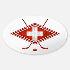 Schweiz Eishockey Logo Decal