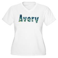 Avery Under Sea Plus Size T-Shirt
