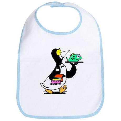 Mr Penguin Bib
