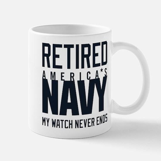 US Navy Retired Not Decommission Mug