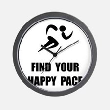 Happy Pace Wall Clock