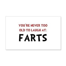 Laugh Farts Wall Decal