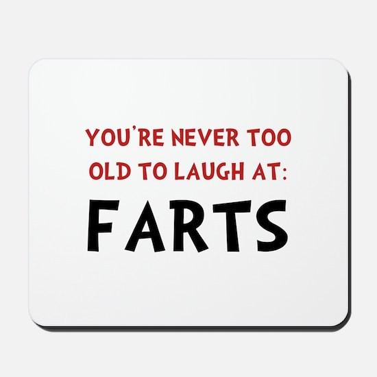 Laugh Farts Mousepad