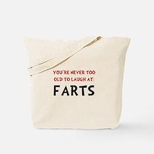 Laugh Farts Tote Bag