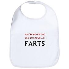 Laugh Farts Bib