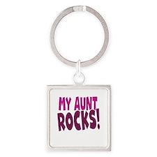 My Aunt Rocks Keychains