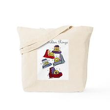 Fifth Day of Christmas Tote Bag