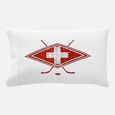 Schweiz Eishockey Logo Pillow Case