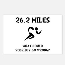 Marathon Go Wrong Postcards (Package of 8)