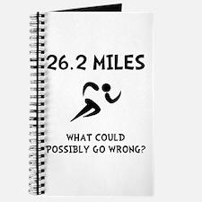 Marathon Go Wrong Journal