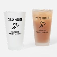 Marathon Go Wrong Drinking Glass