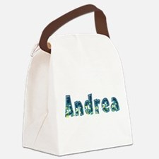 Andrea Under Sea Canvas Lunch Bag